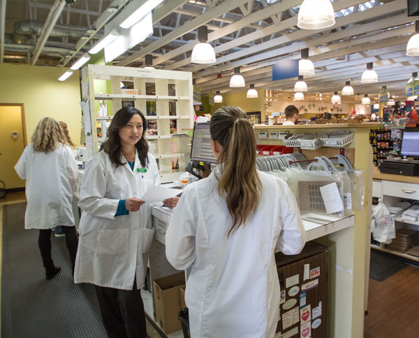 Our pharmacists and technicians work closely together to improve our patients' experience.